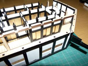 「週刊 安土城をつくる」 一階の梁を組む