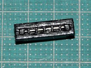 「週刊安土城をつくる」 小さい窓を組み立てる