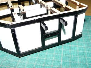 「週刊安土城をつくる」 小さい窓を組み込む