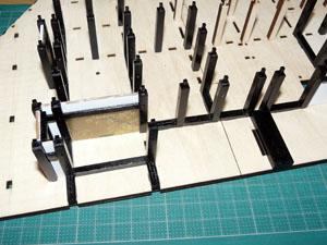 「週刊安土城をつくる」 框・押板を組む
