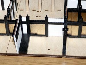 「週刊安土城をつくる」 一階北側の襖をつくる