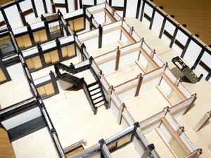 「週刊安土城をつくる」 大階段をつける