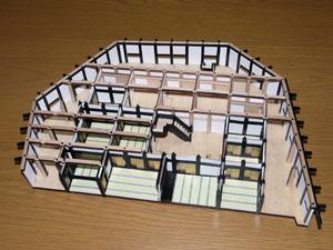 「週刊安土城をつくる」 一階北側の畳をつくる