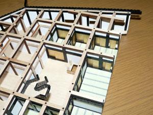 「週刊安土城をつくる」 一階北側の梁を組む