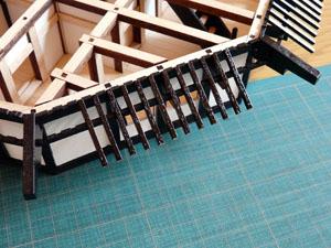 「週刊安土城をつくる」 一階北側の垂木を組む