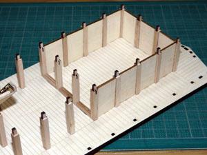 「週刊安土城をつくる」 壁をつける