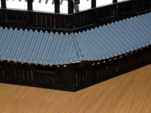 「週刊安土城をつくる」 屋根をつくる