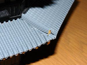 「週刊安土城をつくる」 一階屋根をつくる