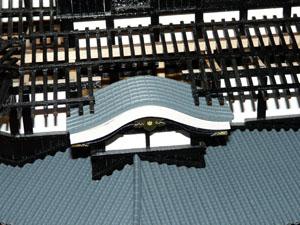 「週刊安土城をつくる」 二階屋根をつくる