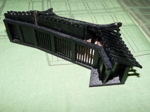 「週刊安土城をつくる」 地階櫓門をつくる