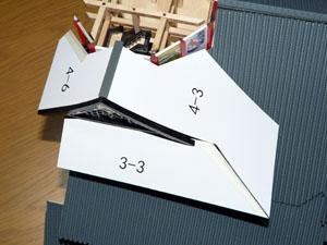 「週刊安土城をつくる」 北側四階の屋根をつくる