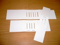 キーホルダー用台紙