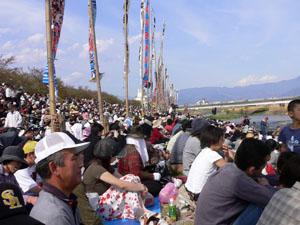 桃の花まつり 川中島合戦戦国絵巻