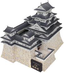 姫路城ペーパークラフト完成