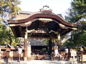 豊国神社の唐門