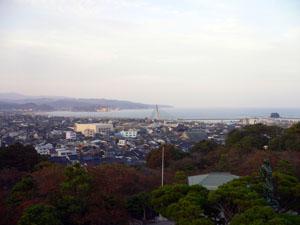 朝日山公園からの眺望