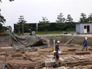 金沢城 埋蔵文化財発掘調査説明会