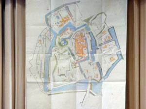 金沢御城中壱分碁絵図
