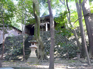 椿原山砦跡