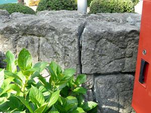 福井城堀の石