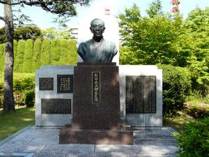 熊谷太三郎像