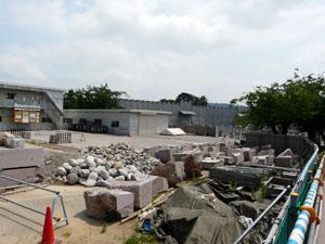 金沢城河北門復元工事