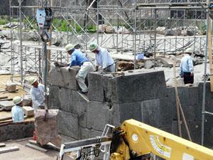 金沢城河北門復元整備