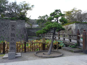 日本100名城スタンプラリー 鹿児島城