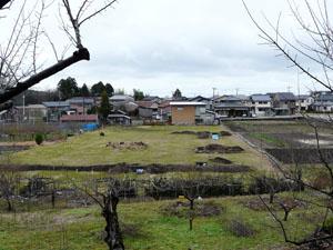 加賀藩塩硝蔵跡発掘現場