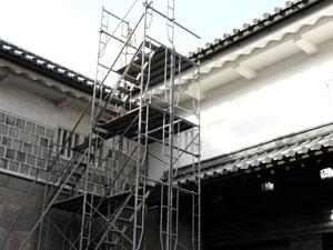 石川門保存修理工事