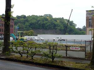 金沢市役所前からの眺望