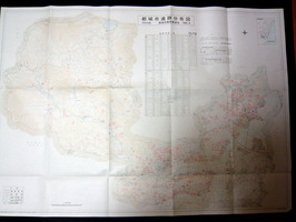 都城市遺跡分布図(市内北部)