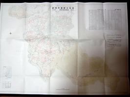 都城市遺跡分布図(市内南部)