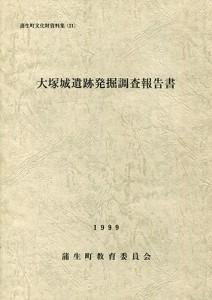 大塚城遺跡発掘調査報告書