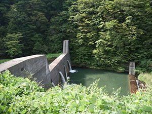 笹生川第二堰堤
