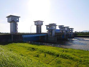 中ノ口川水門