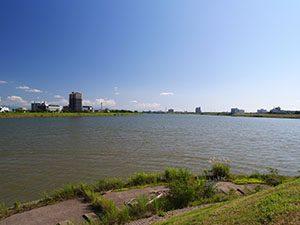 信濃川水門