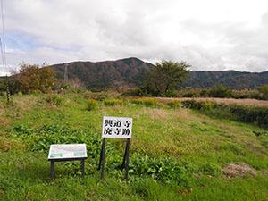 興道寺廃寺 福井県美浜町