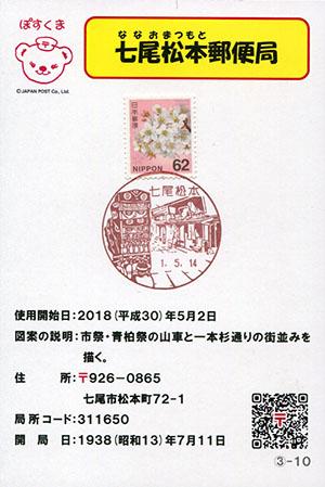 七尾松本郵便局