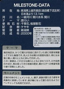 久比岐野川街道一里塚 島田