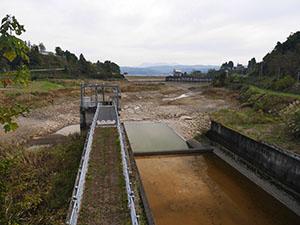 浅河原調整池ダム