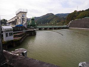 宮中取水ダム