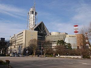富山市役所内郵便局