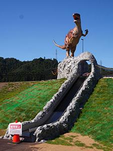 道の駅 恐竜渓谷かつやま