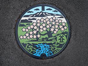 高山市下水道カラーマンホールスタンプラリー