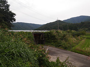 葉原トンネル(葉原築堤)