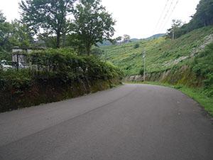 曽路地谷トンネル(杉津駅跡)