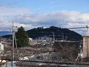 水口岡山城