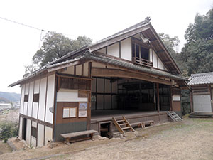 深萱の農村舞台 岐阜県坂祝町