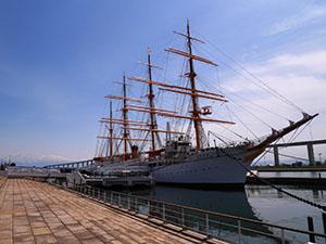 帆船海王丸 富山県射水市
